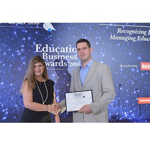 Βράβευση  του Kafkas Institute of Training  and  Development στα education  business  awards  2016 - 17/05/2016