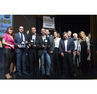 Νέες διακρίσεις για την ΚΑΥΚΑΣ, αυτή τη φορά στα Sales Excellence Awards - 05/04/2016